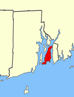 a map of aquidneck and rhode island